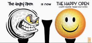 THE ANGRY OPEN IS NOW THE HAPPY OPEN