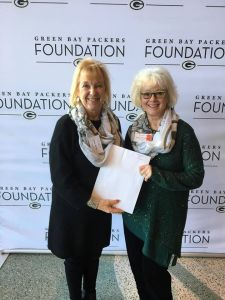 Receiving Green Bay Packer Foundation Grant for 2019 Dance in the Schools Program